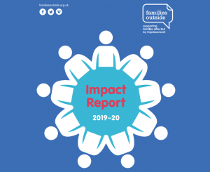 Families Outside - Impact Report 19 - 20 Front Cover