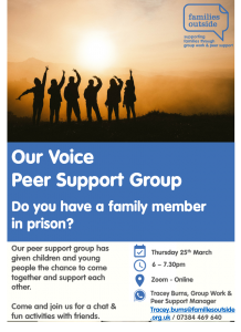 Families Outside - Peer Support Marhc