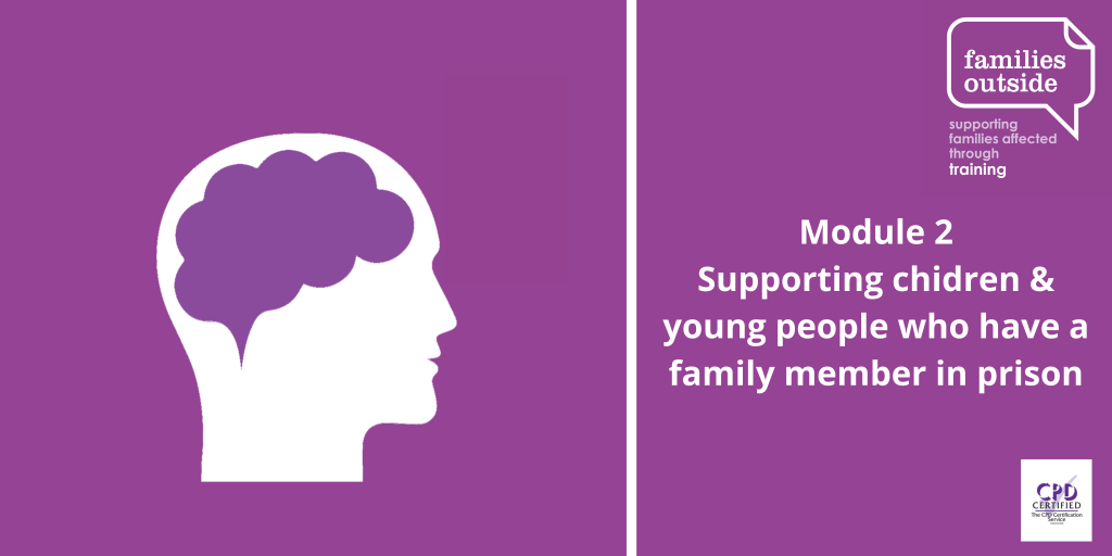 Module 2: Supporting children and young people who have a family member in prison