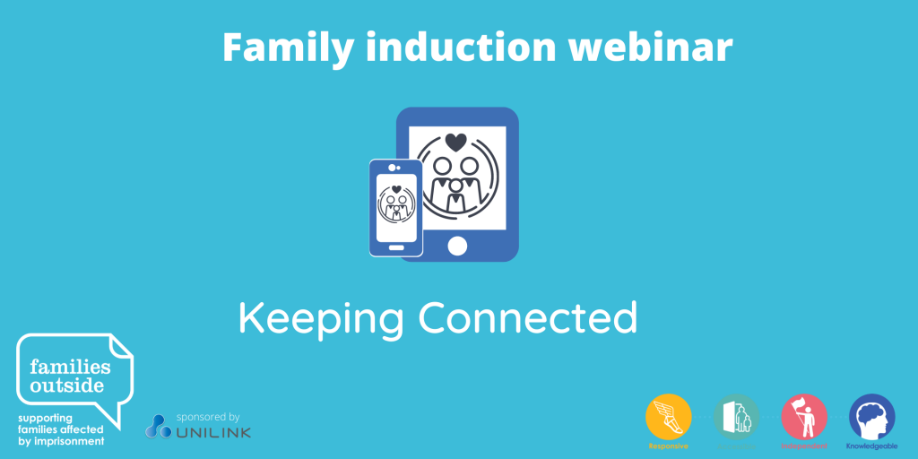 Family induction webinar - Keeping Connected